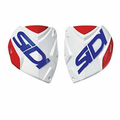 Sidi Crossfire 2 Shin Plate Boots Motocross Boot Spares - White Red Blue