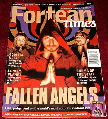 Fortean Times Issue 134 May 2000 Fallen Angels