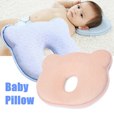 Soft Baby Cot Pillow Prevent Flat Head Memory Foam Cushion Sleeping Support 1 ❤