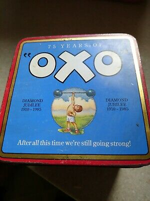 Vintage Tin 75 years of Oxo diamond jubilee tin