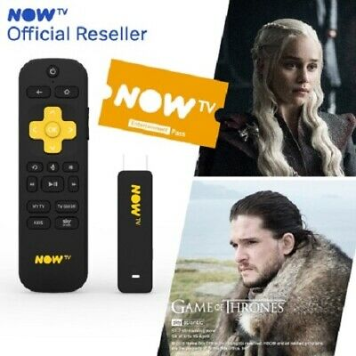 Brand New ''NOW TV Smart Stick With HD & Voice Search & 2 MONTHS ENTERTAINMENT'.