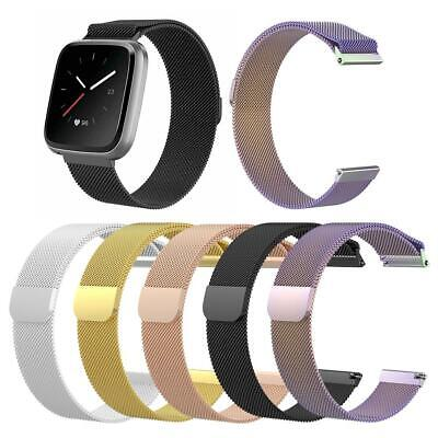 Magnetic Milanese Loop Wrist Strap Watch Band for Fitbit Versa/Versa Lite Kit