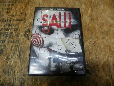 Saw: The Complete Movie Collection - DVD
