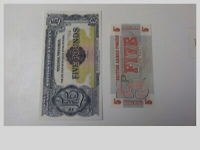A Group Of 10 British Armed Forces Banknotes...un-Circulated  .L@@@K Nr
