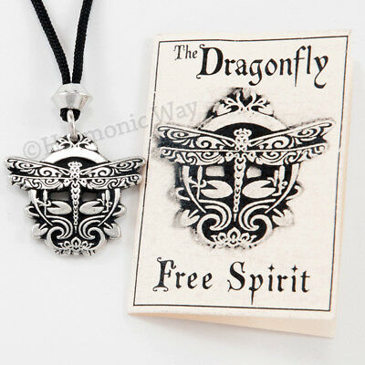 THE MAGICAL DRAGONFLY Pendant Necklace ~ Very Pretty Free Spirit