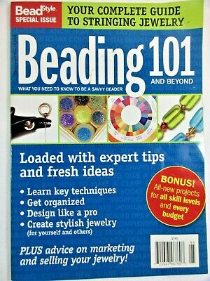 """""""Beading 101"""" by Bead Style Paper Back 98 pages, May 2009"""