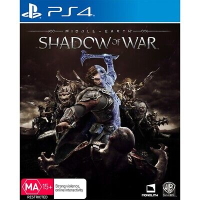 Middle Earth: Shadow Of War PS4 Playstation 4 Like New