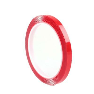 1 Roll 3m Double Sided Adhesive Tape Acrylic No Traces Sticker (8mmx3m) SS6