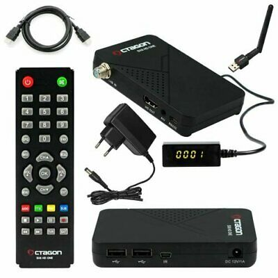 Octagon SX8 Mini One Full HD DVB-S2 Multistream FTA CA Sat Receiver + WLan Stick