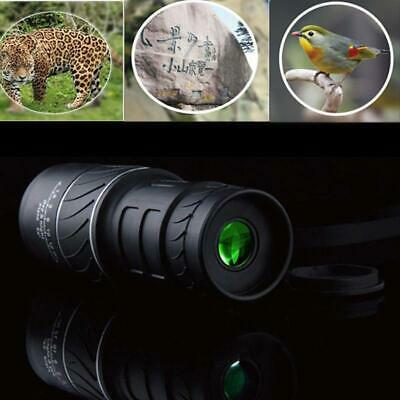 Day Night Vision 40X60 HD Monocular Hunting Camping Hiking Outdoor Telescope New
