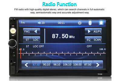 """Car MP5 Player 2 Din Android 8.1 Touch Screen Stereo Radio GPS WIFI 7"""" Double"""