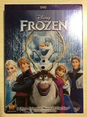 Frozen Disney Movie DVD 2014 Brand New With Free Shipping