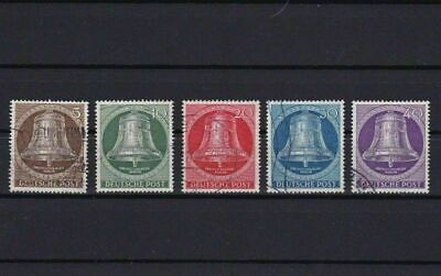 Germany Germany Berlin 1953 Freedom Bell Clapper Centre Used Stamps   Ref 3996