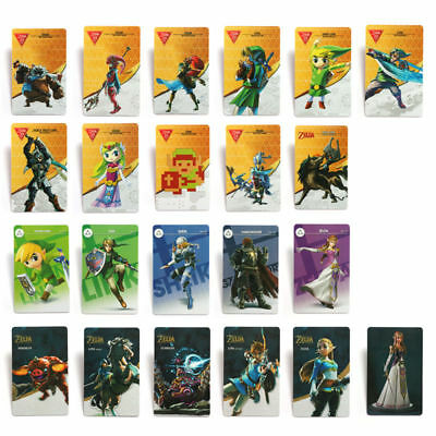 HOT! 22pcs NFC PVC Tag Game Card Zelda BREATH OF THE WILD-BOTW For Switch/Wii U