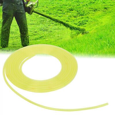 3m Yellow Plastic Hose Fuel Pipe Petrol Tube For Chainsaw Blower Pressure Washer