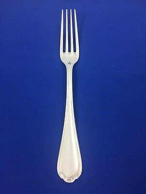 "CHRISTOFLE Silver Plated SPATOURS Silverplate Flatware 8 1/8"" DINNER FORK"