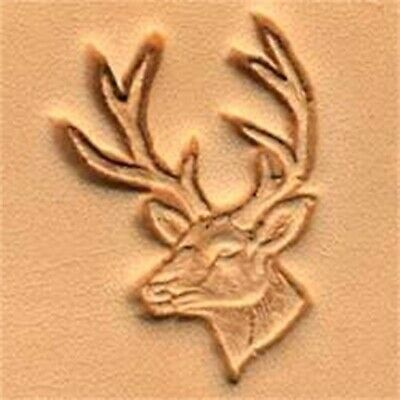 Craf Stamp Left 8836100 Eagle Head 3d Leather Stamping Tool