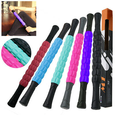 Muscle Roller Massage Stick for Fitness Sports Physical Therapy Recovery Tool US