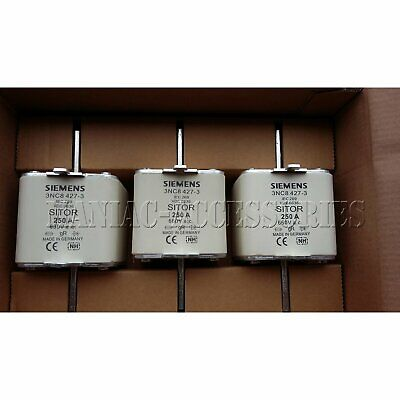 1PC New In Box Siemens 3NC8 427-3 3NC84273 Fuse 250A 660V one year warranty