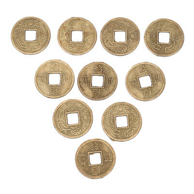 100Pcs Feng Shui Coins Ancient Chinese Ching Coins For Health Wealth Charm New