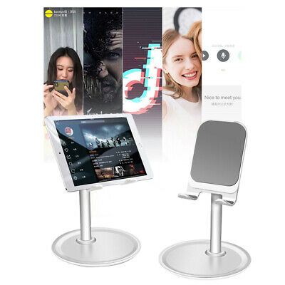 Adjustable Aluminum Desk Mount Tablet Stand Holder For iPad Cell Phone Universal