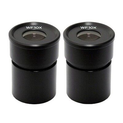 AmScope EP10X305 Pair of WF10X Microscope Eyepieces (30.5mm)