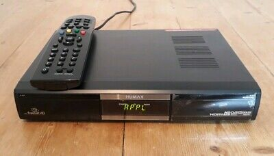 Humax Foxsat HD/GB Freesat Satellite Receiver With Remote Control Fully Working