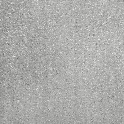 Silver Grey Oxford Quality Twist Carpet Cheap Stain Resistant Felt Backing 4m 5m