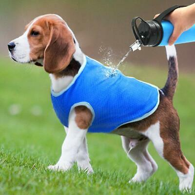 Crufts Breathable Pet Cooling Vest Dog Cat All Size Dogs Extra Small To Large