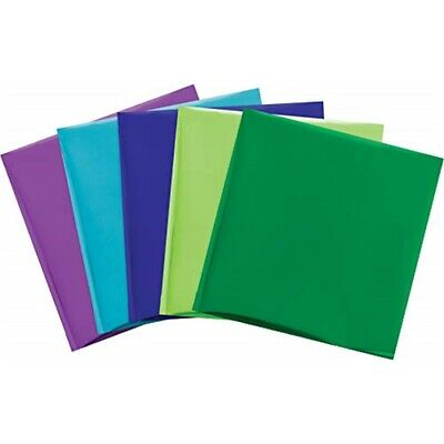 "We R Memory Keepers Foil Quill 12""x12"" Foil Sheets 15/pkg-peacock-3 Each Of 5"