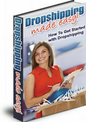 Dropshipping Made Easy-PDF eBook with Master Resell Right + bonus Free shipping