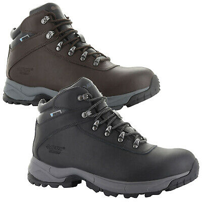 Hi-Tec Mens Eurotrek Lite Waterproof Walking Boots Hiking Outdoor Trail Trekking