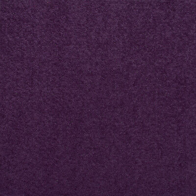 Deep Purple Oxford Quality Twist Carpet Cheap Stain Resistant Felt Backing 4m 5m