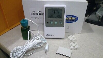Traceable 3KTU9, Refrigerator/Freezer Memory Monitoring Thermometer, with Alarm