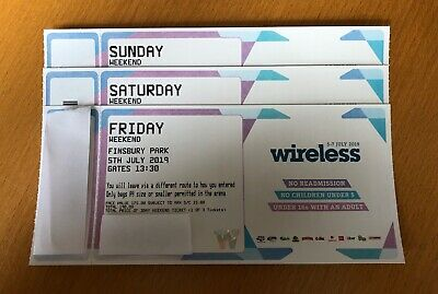 Wireless Weekend Ticket 2019 - Friday, Saturday and Sunday