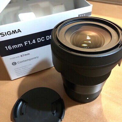 SIGMA 16mm f1.4 DC DN PRIME LENS for Sony E-Mount Camera