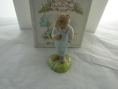 Ratty  Wind In The Willows  Royal Albert With Original Box Aw 3 Doulton