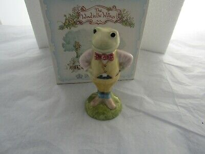 Toad Wind In The Willows  Royal Albert  Aw 1 Doulton
