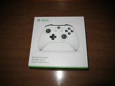 Microsoft Xbox One S Wireless Controller White brand new in the box free ship