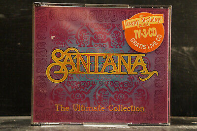 Santana - The Ultimate Collection (& Live CD)   3 CDs