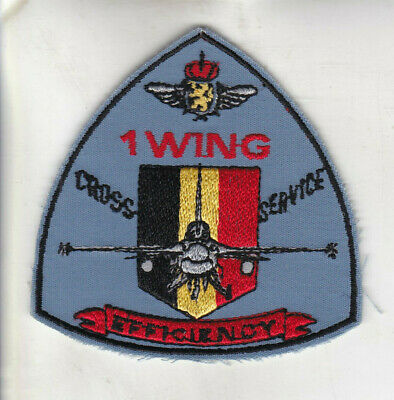 Org Patch:  1 Wing Cross Service Belgian Air Force