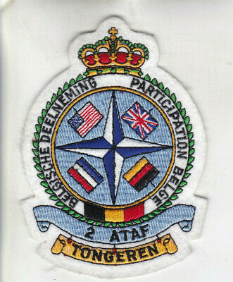 Org Patch:  2 ATAF Participation Belge Belgian Air Force
