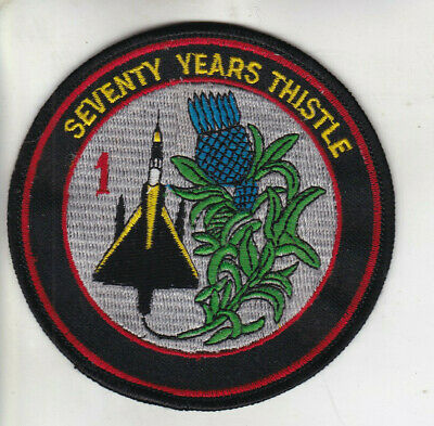 Org Patch:  70 Years 1 Squadron Belgian Air Force