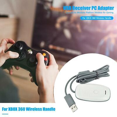 PC USB Wireless Controller Gaming Receiver Adapter Cable for Microsoft Xbox 360