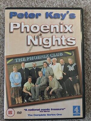Phoenix Nights - Complete Series One (DVD, 2002) Peter Kay, Paddy McGuinness