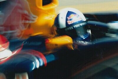 David Coulthard Hand Signed 12x8 Photo - Formula 1 Autograph F1 Red Bull.