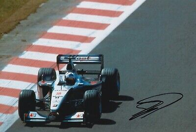 David Coulthard Hand Signed 12x8 Photo - Formula 1 Autograph F1 Mercedes 3.