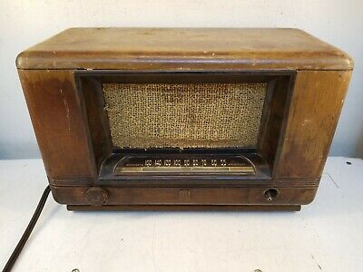 Wards Airline Model 84WG-1804D Tube Type Radio *Tested working, See Description*