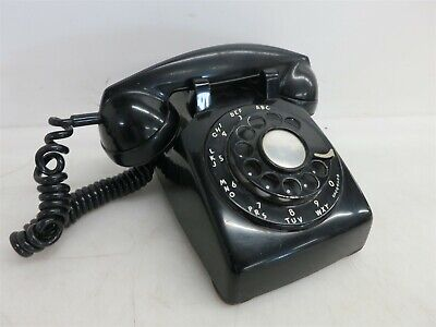 Vintage Rotary Corded Western Electric Bell System Telephone