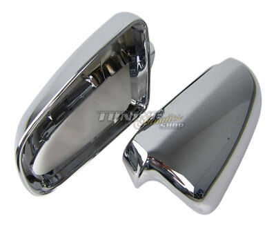 Complete Chrome Housing Mirror Casing Exterior for Audi A6 S6 4F C6